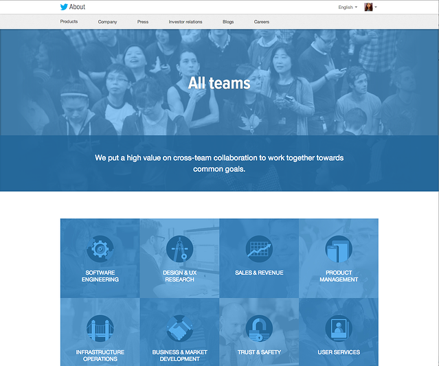 twitter careers page