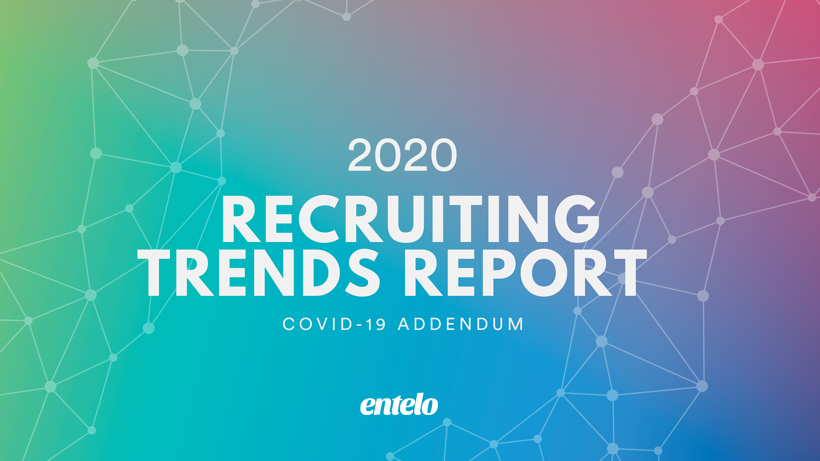 2020 Recruiting Trends Report COVID Addendum Blog Header