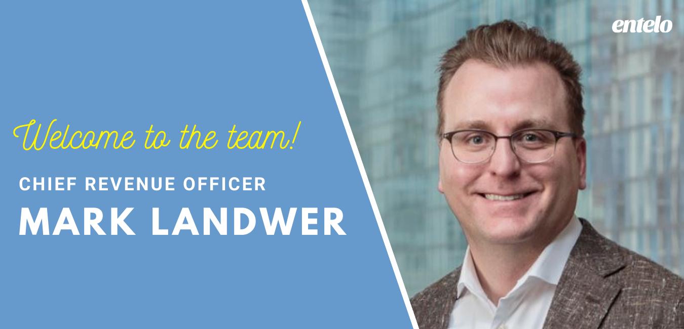 Welcome Mark Landwer