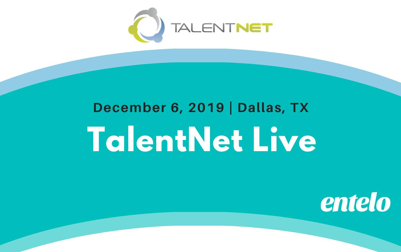 TalentNet Live 2019 - Entelo